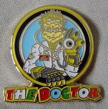 *NEW* 'The Doctor' enamel badge.Moto GP, Rossi.