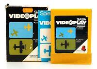 "SABA Videoplay ""Videocart 4: Luftkampf"" Modul, Anl. & OVP"