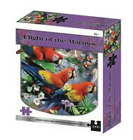 Flight of the Macaws Kidicraft 2D Puzzles Howard Robinson Series 1000 Pieces