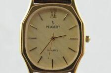 Peugeot Women's Watch Vintage Quartz 25MM Gold Plated RAR