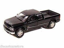 Maisto 1999 Chevy Silverado Pick Up BLACK 1/27 Diecast NEW WITHOUT BOX 34941