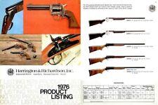 Harrington & Richardson Arms 1976 Dealer Catalog