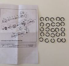 Ingersoll Rand Socket Spring Retainer for IR2135, IR2131 Impact Wrenches (25pcs)
