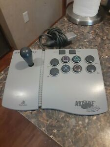 Asciiware Sony Playstation 1 PS1 Arcade Stick 8160 Joystick Controller