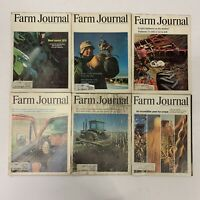 LOT OF 6 VINTAGE 1979 FARM JOURNAL MAGAZINE TRUCK TRACTOR FARMING ADS (1970's)