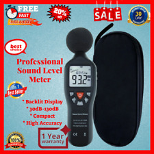 Profesional Digital Sound Level Meter With High Accuracy 30 130 Db Decibel Noise