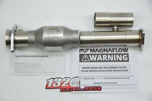 1320 Stainless ADJUSTABLE 2.5 inch Magnaflow high flow catalytic converter Cat