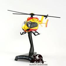 Miniature Del Prado Hélicoptère Sauveteur Pompier Eurocopter EC145 Helicopter