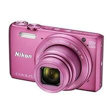 Nikon Coolpix S7000 16 MP Digital Camera - Pink