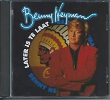 BENNY NEYMAN - Later is te laat CD Album 14TR HOLLAND 1992 (CNR)