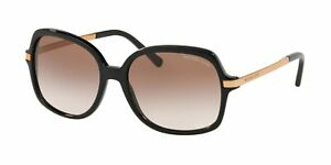 Michael Kors 0MK2024 Black/Brown Peach Gradient Sunglasses 57mm