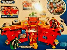 Marvel Super Hero Adventures Command Center IRON MAN FIGURE New In Box