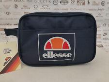 ELLESSE Wash Bag Men's Canvas ALTA Grab Strap Navy Travel Toiletry Bags BNWT