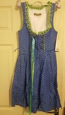 Señoras Vestido Dirndl. tamaño 32