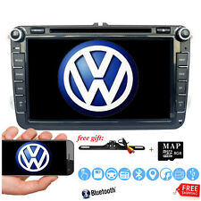 "2Din 8"" Car Stereo DVD Player Camera GPS Navigation Radio USB For VW Volkswagen~"