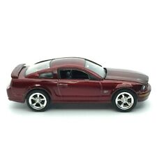 Greenlight 2008 08 Ford Mustang GT Coupe Candy Apple Red Die Cast 1/64 Loose