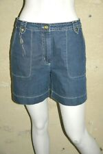 ANTONELLE SPORT Taille 40 Superbe bermuda en jeans jean denim bleu femme short