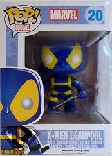 "X-MEN DEADPOOL Pop Marvel 4"" inch Vinyl Bobble Head Figure #20 2014"