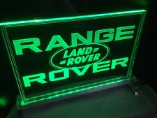 Neon Style Land Rover Range Rover Sign, Ideal unique gift for the Landy fan