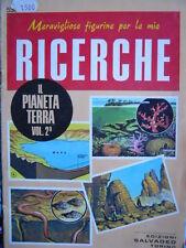 Le Figurine RICERCHE - Il Pianeta Terra Vol.2 ed. Salvadeo    [C67]