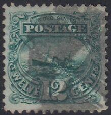 USA Scott #117 12ct 1869 Pictorial Used VF-XF Fancy Cancel