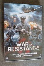 DVD CINEMA GUERRE  WAR RESISTANCE