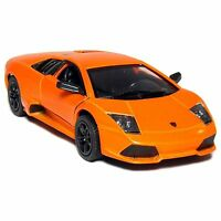 "5"" Kinsmart Lamborghini Murcielago LP640 Diecast Model Toy Car 1:36 Orange"