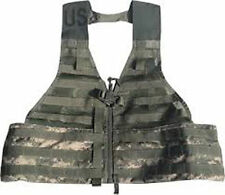 *NEW US ACU MOLLE II FIGHTING LOAD CARRIER FLC TACTICAL VEST DIGITAL CAMO DRing