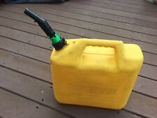 Tsg Yellow 5 Gallon Diesel Fuel Gas Storage Tank Container Jerry Can 548