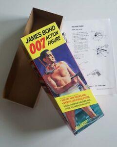 Gilbert James Bond 007 Sean Connery Empty Box 12 inch Action Figure 1965 type