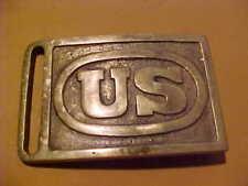 1870S Era U.S. Belt Plate Buckle Brass