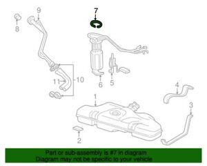 ( 1 ) GENUINE GM ACDelco TR9 Fuel Pump Lock Ring