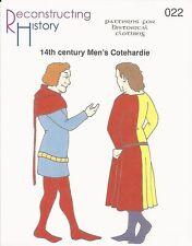 Schnittmuster RH 022 PaperPattern 14th century Men's Cotehardie