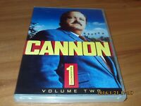 Cannon - Season One, Volume Two (DVD, 2008, 4-Disc Set) NEW 1st 1 First
