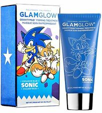 NEW Glam Glow Limited Edition GRAVITYMUD FIRMING BLUE - TAILS (SONIC) 15ml