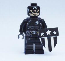 Custom - Concept Captain America - Marvel Super heroes minifigures lego bricks