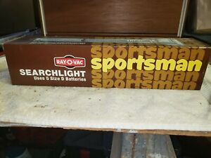 Vintage Ray-o-Vac Sportsman Flashlight 1970's