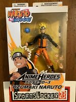 "Bandai Anime Heroes Naruto Shippuden Uzumaki Naruto 6"" Action Figure NEW IN HAND"