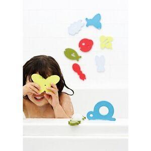 Boon Bath Tub Appliques Baby Bathtime Toys 3 Options (Dive Trap Trace) BPA Free