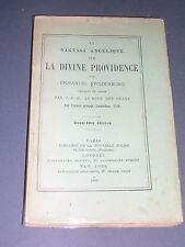Rare Swedenborg Emmanuel la sagesse angélique sur la divine providence 1897