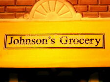 Dept 56 Christmas In The City Johnson'S Grocery & Deli 58886 NeW! Mint! AmaZinG!