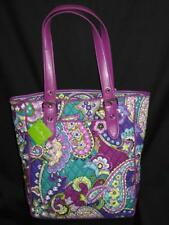 NWT Vera Bradley boxy BUCKLE Tote HEATHER purse for book Bag college dorm tablet