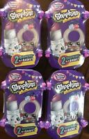 New Shopkins - Shopping Spree Blind Mystery 2-Pack - Set of 4 - Easter Surprise!