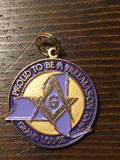 Mason Masonic Grand Lodge Of New York Medal Proud To Be A Freemason #00097