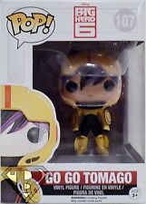 "GO GO TOMAGO Big Hero 6 Pop Movies 4"" inch Vinyl Figure #107 Funko 2014"