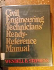 Civil Enginweering Technicians' Ready-Reference Manual Hardcover – 1985