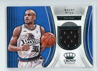 2018-19 Grant Hill Jersey Panini Crown Royale
