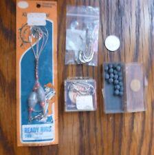 Fishing Tackle Lot KINGFISH Rigs; WRIGHT & McGILL sz 1 Nickel Finish Hooks; more