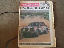 Motoring News 13 November 1980 RAC Rally Guide Tony Pond Team Toyota