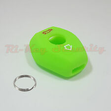 Green Glow Protective Rubber Case Silicone Cover Skin Jacket Fit BMW Remote Key